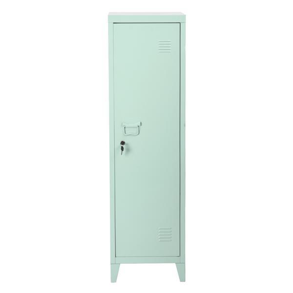Casier/cabinet en métal Councilbluffs, vert, 54.1 po