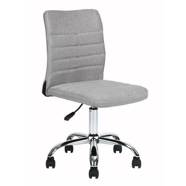 FurnitureR Hertha Adjustable Office Chair - 5 Castors - Grey