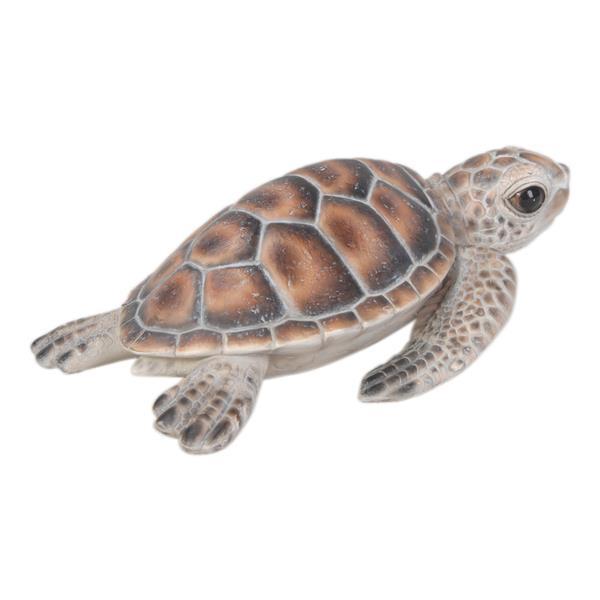 """Statue de jardin, petite tortue marine, 2,24"""""""