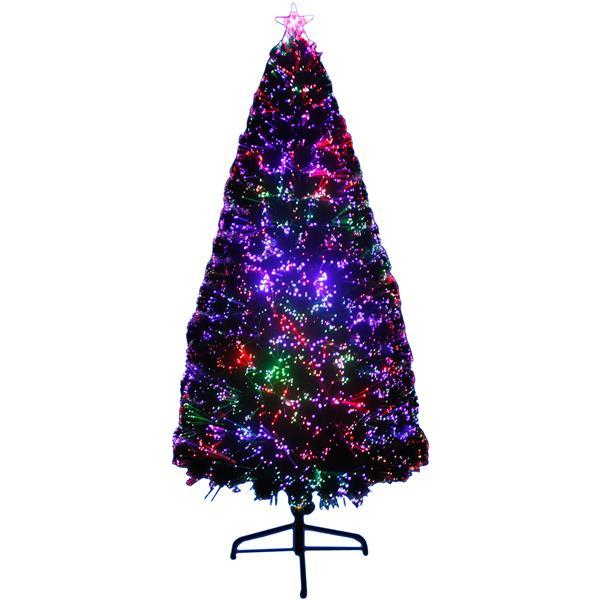 "Hi-Line Gift Christmas Tree - Fiber Optic Multi-Color LED Light- 72"""