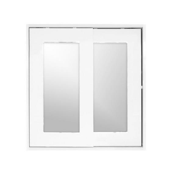 "Pharmacie avec miroir «Relax», 24"" x 25,25"", blanc"