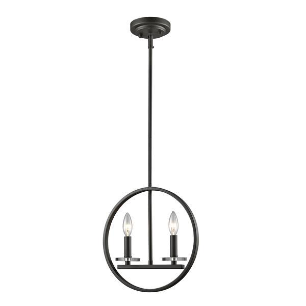 Z-Lite Verona 2-Light Mini Pendant Light - Bronze