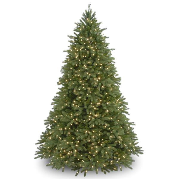 National Tree Co. Jersey Fraser Fir ChristmasTree with Clear Lights - 9-ft