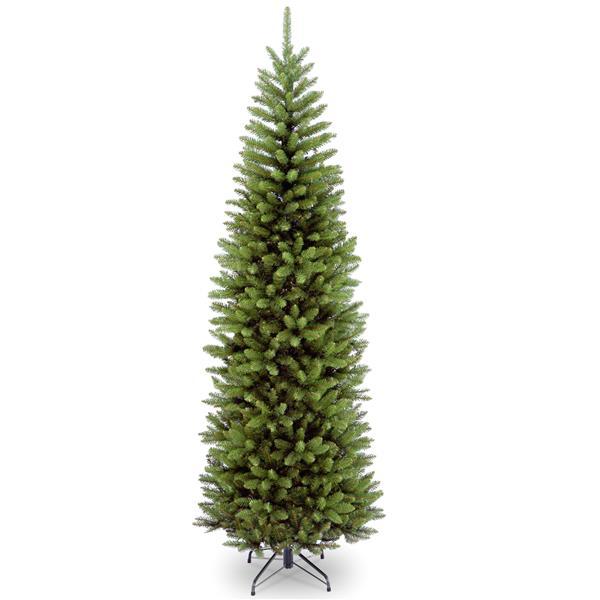 National Tree Co. Kingswood® Fir Pencil Christmas Tree - 7-ft - Green