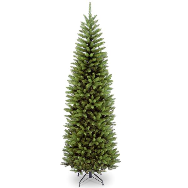 National Tree Co. Kingswood® Fir Pencil Christmas Tree - 7.5-ft - Green