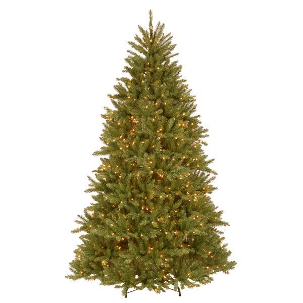 Sapin de Noël avec lumières claires PowerConnect Dunhill(MD), 7,5 pi