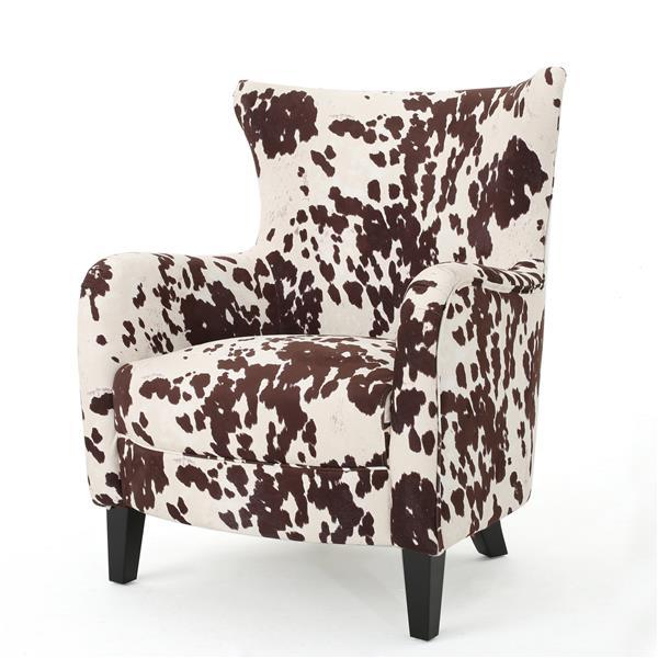 Fauteuil d'appoint en tissu Arabelle de Best Selling Home Decor, brun