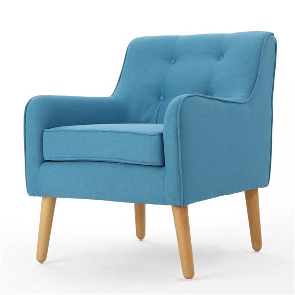 Fauteuil d'appoint Felicity de Best Selling Home Decor, bleu pâle