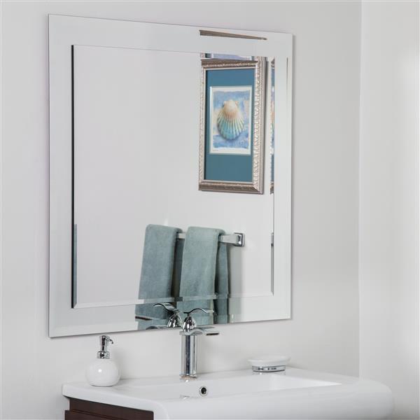 Decor Wonderland St Petersburg Modern Bathroom Mirror 35 In X 35 In Ssm501s Reno Depot