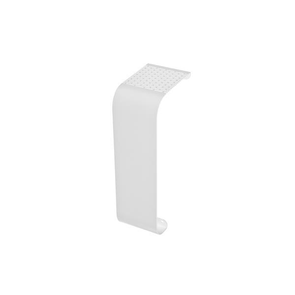 Veil Titan Baseboard Heater Cover - Coupler - 2-3/4-in - Satin White Aluminum