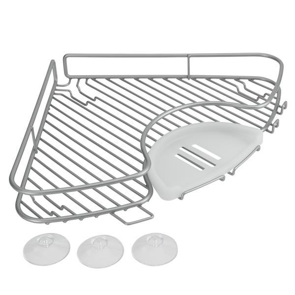 Metaltex Bathtub Corner Shelf - Metal