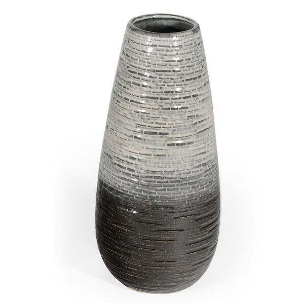 Gild Design House Kadi Ceramic Table Vase - 17-in