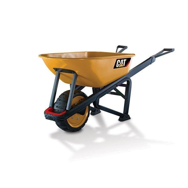 Cat® X Wheelbarrow - 1200-lb Capacity - 6 cu ft. Steel Tray