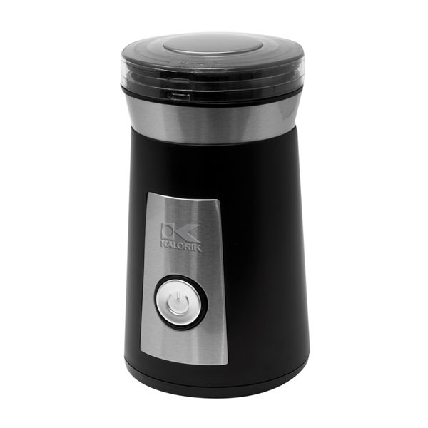 Kalorik Coffee and Spice Grinder - Black and Stainless Steel
