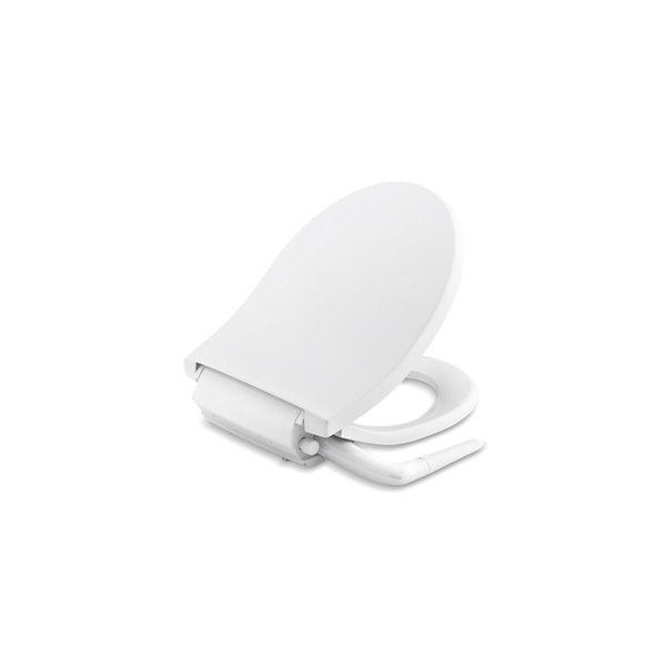 KOHLER Puretide Round-Front Manual Bidet Toilet Seat - White
