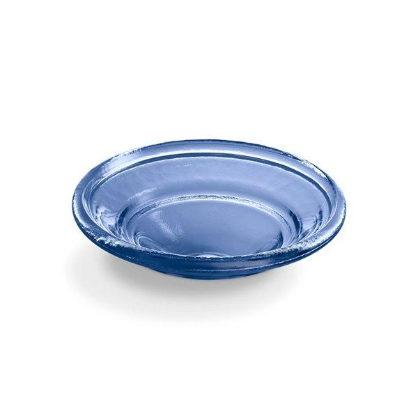 KOHLER Spun Glass Vessel Bathroom Sink - 17-in - Blue