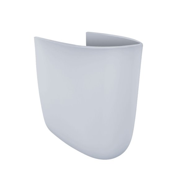 TOTO linceul pour lavabo de salle de bains, coton blanc