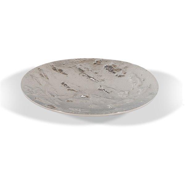 Gild Design House Freya Decorative Tray - Silver - 15-in