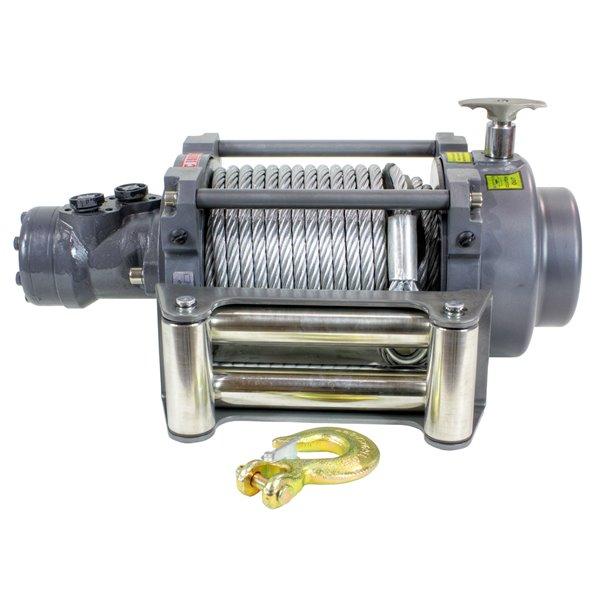Treuil hydraulique de remorquage Warrior de DK2, 15 000 lb