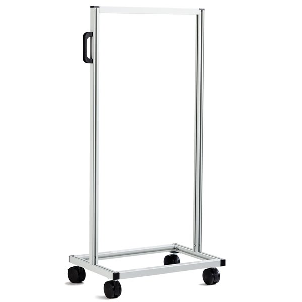 Ideal Security Tilt Bins Organizer Self Standing Stand - Double-Sided - 46-in