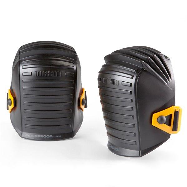 TOUGHBUILT Waterproof Knee Pads - Plastic - Black
