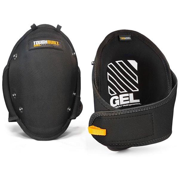TOUGHBUILT GelFit Knee Pads - Plastic - Black