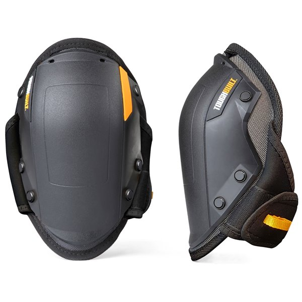 TOUGHBUILT FoamFit Rocker Knee Pads - Plastic - Black