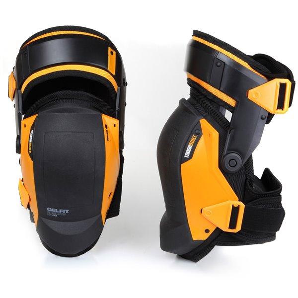 TOUGHBUILT GelFit Fanatic Thigh Support  Knee Pads - Plastic - Black