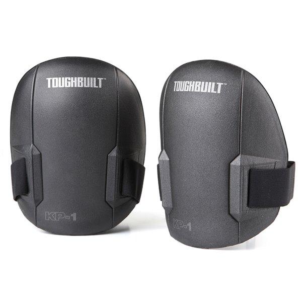 TOUGHBUILT Ultra Light Knee Pads - Plastic - Black