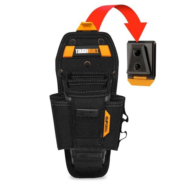 TOUGHBUILT Technician Pouch - Large - 7-Pocket - Black