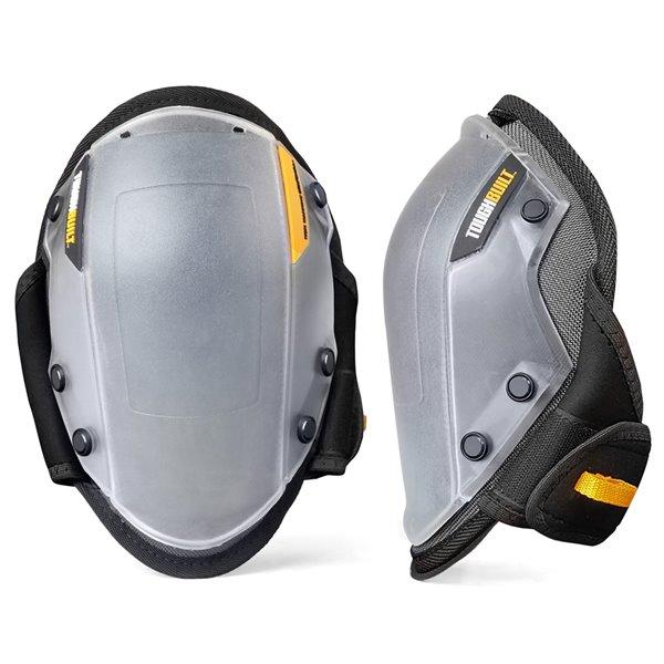 TOUGHBUILT FoamFit Non-Marring Knee Pads - Plastic - Black