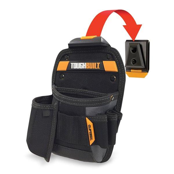 TOUGHBUILT Universal Pouch and Utility Knife Pocket - Black