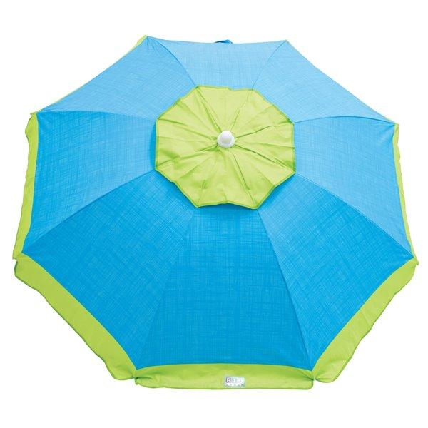 RIO Beach 6 ft Tilt Beach Umbrella with Wind Vent