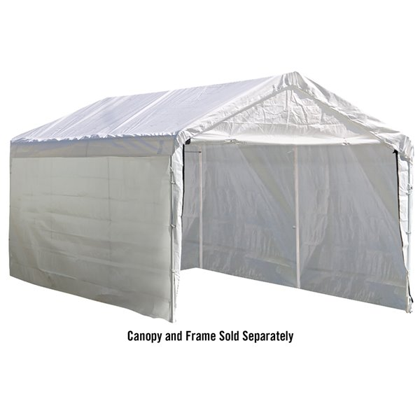 Canopy Enclosure Kit Accessory - SuperMax 12x20ft
