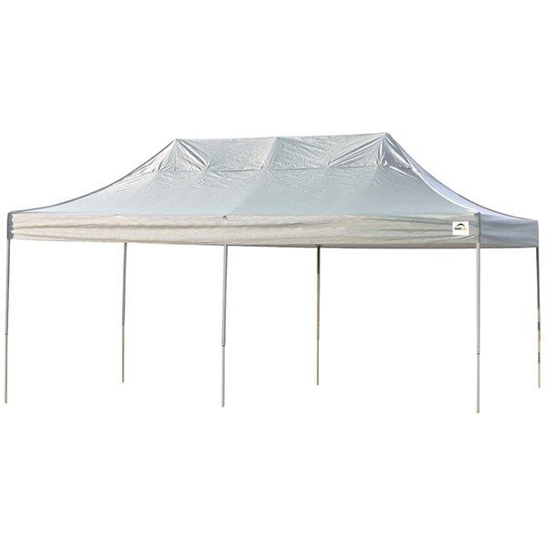 Shelterlogic Pop Up Canopy Hd Straight Leg 10 X 20 Ft White 22534 Reno Depot