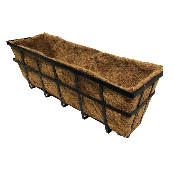 Blooms Window Planter with Coco Liner - 24-in
