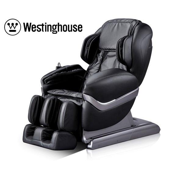 Fauteuil de massage Westinghouse WES41-700S, similicuir, noir