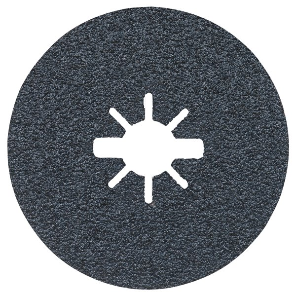 Bosch 24 Grit X-Lock Coarse Grit Abrasive Fiber Discs - 25 pieces - 4.5-in