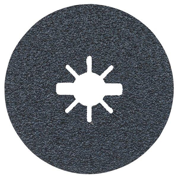Bosch 24 Grit X-Lock Coarse Grit Abrasive Fiber Discs - 25 pieces - 5-in