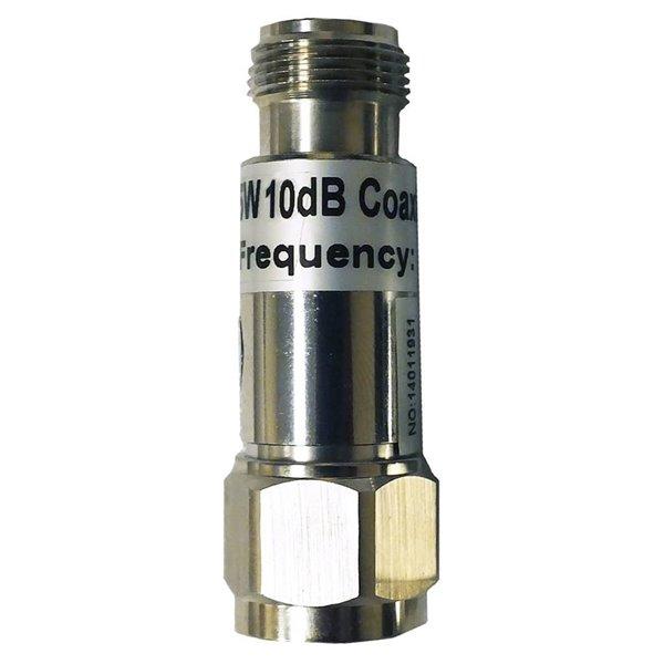 SureCall 10 dB RF Nickel Attenuator Audio Connector