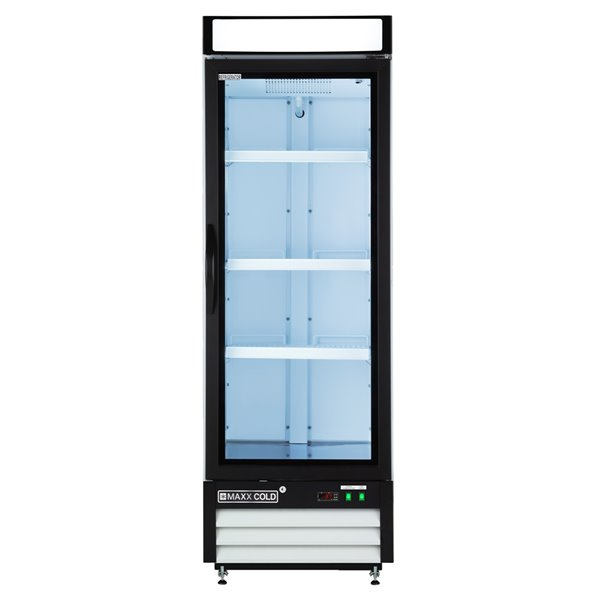 Maxx Cold X Series Commercial Refrigerator - 16-cu ft - White