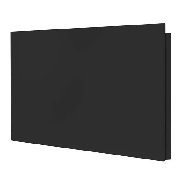 Convecteur mural 2000 watts Mirage de Stelpro, 208 V/240 V, 36,25po x 19,25po, noir