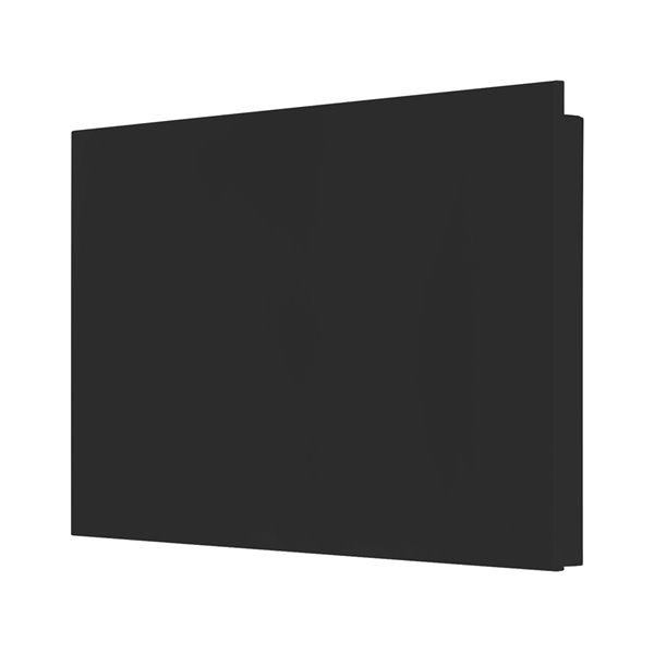 Convecteur mural 1500 watts Mirage de Stelpro, 208 V/240 V, 30,38po x 19,25po, noir
