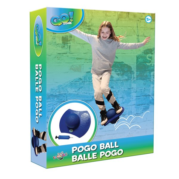 Go! Zone Pogo Ball with Air Pump