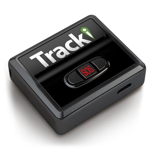Tracki Universal Real Time Worldwide Mini 3G GPS Tracker, Black