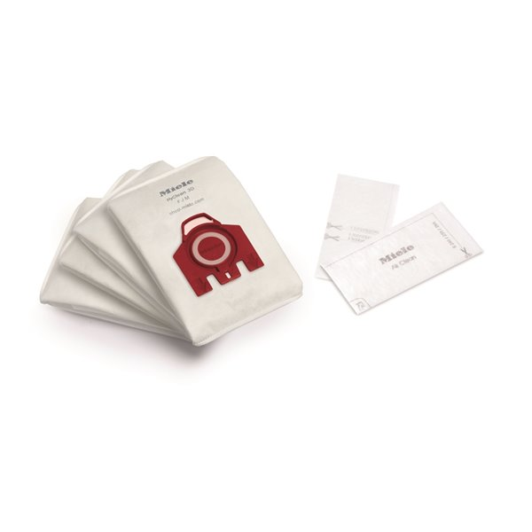 Miele F/J/M 4-Pack 3.5-L Disposable Cloth Vacuum Bag