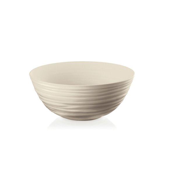 Guzzini Tierra Large Tan Bowl