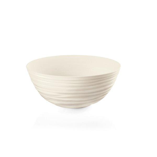 Guzzini Tierra Large Off-white Bowl