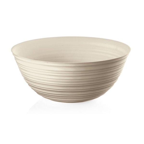 Guzzini Tierra Extra Large Tan Bowl