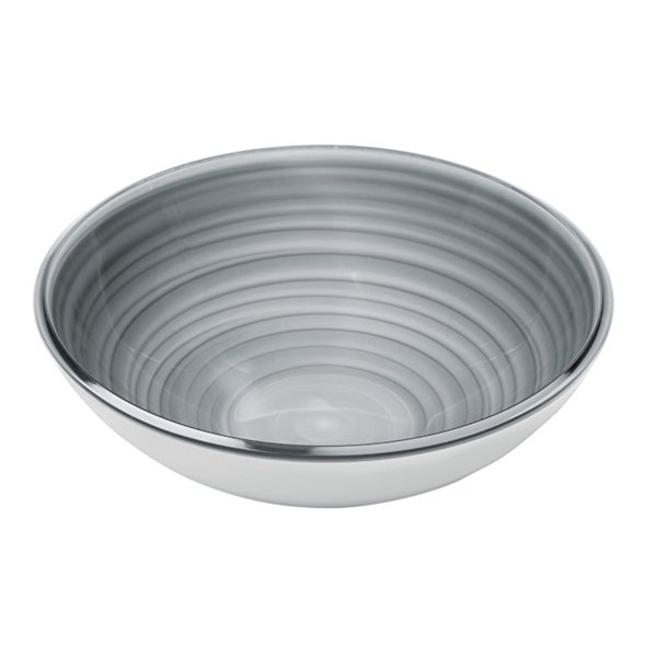 Guzzini Twist Large Grey Bowl